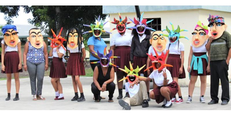 Central Students Learn About Hispanic Culture Through Mask-Making