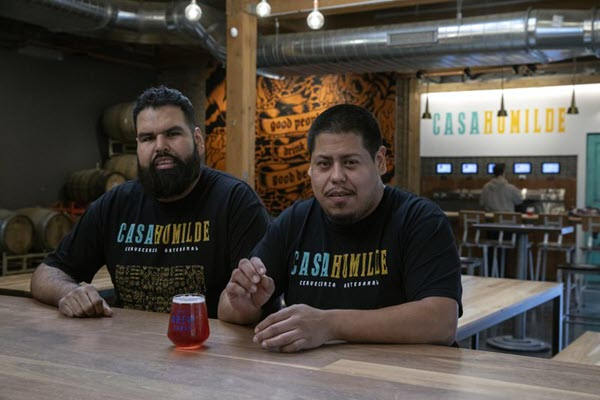Chicago brothers bring Mexican-American heritage to craft beer with new brewery Casa Humilde Cerveceria