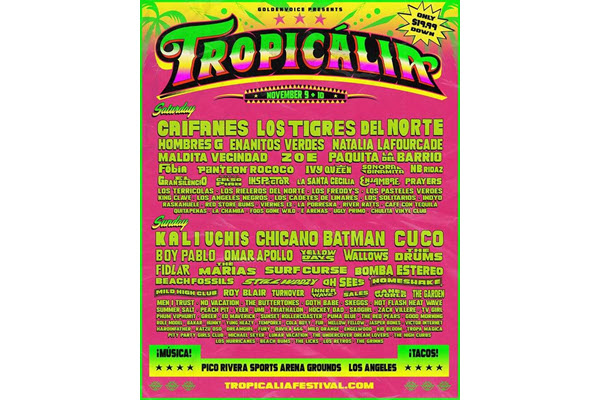 Tropicalia Music Festival 2019