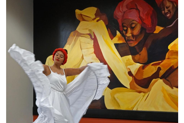 Colorful celebration of Latino arts in Providence, Rhode Island