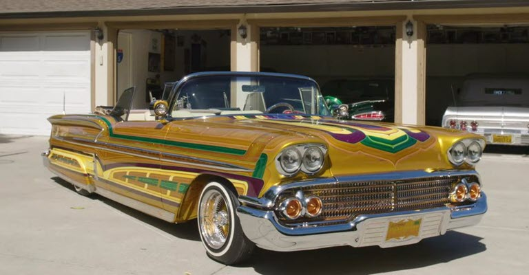 Insane Chevy Impala Lowrider Is A Work Of Art
