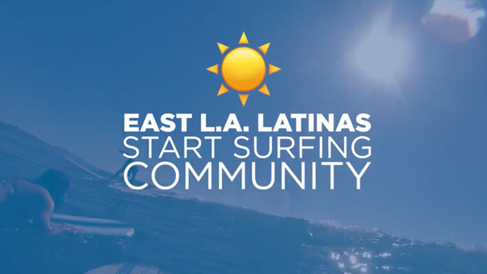 East LA Latinas create surfing community for Latinos