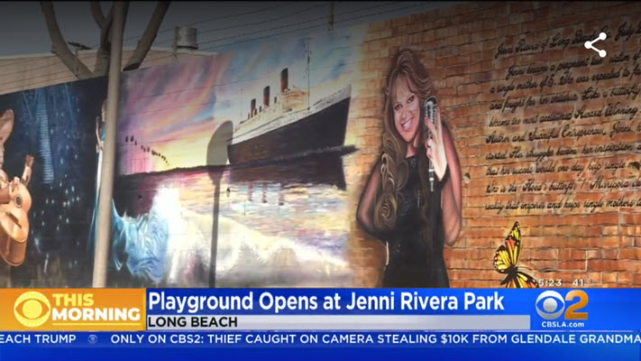 New Park In Long Beach Named For Late Singer Jenni Rivera