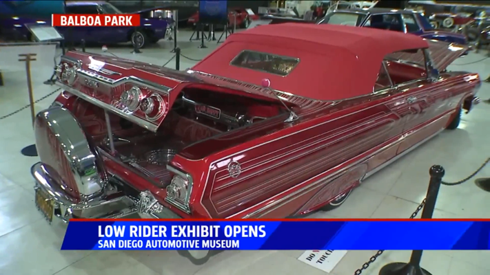 Lowrider exhibit opens at San Diego Automotive Museum