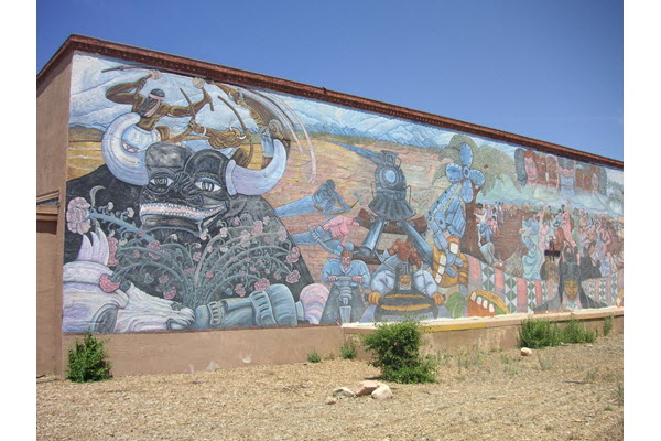 New Mexico Will Tear Down a Historic Chicano Mural to Build an Art Museum