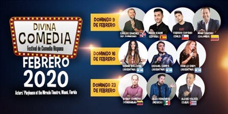 Divine Comedy – Hispanic Comedy Festival