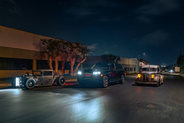 Rolls-Royce unveils 'King of the Night' photo exhibition