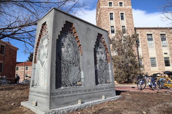 As deadline approaches, students and faculty urge chancellor to allow Los Seis sculpture to remain