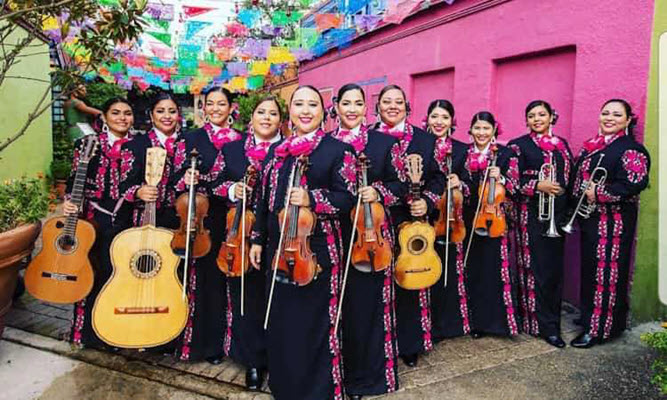 Musically Charmed By Mariachi Of Las Mujeres! Women's Herstory Month 2020