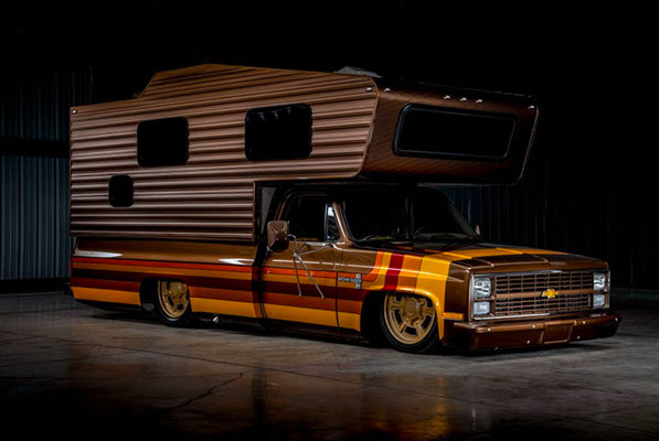 This Insane Custom 1983 Chevy Camper In Incomparable