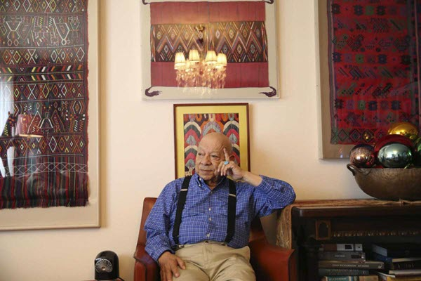 San Antonian Tomás Ybarra-Frausto is the subject of 2 artworks in National Portrait Gallery