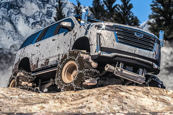 You've Never Seen A Cadillac Escalade Like This