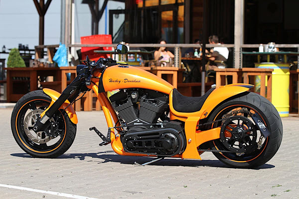 Harley-Davidson RS Lambo Is How a Supercar Looks Like on Two Wheels