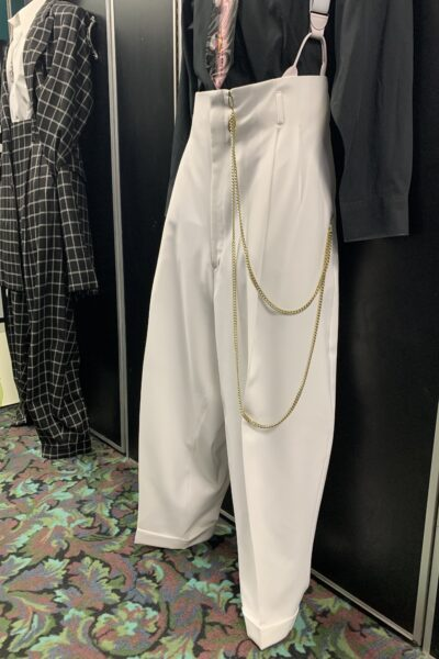 White Zoot Suit Pants