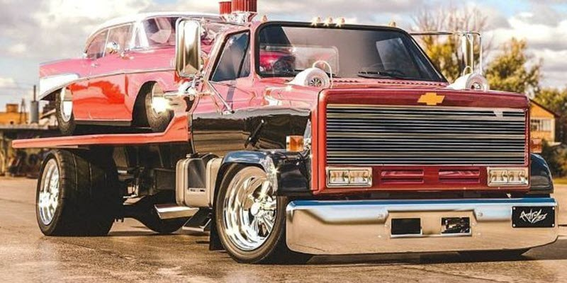 1989 Chevrolet Kodiak Rendering Envisions A Slammed Car Hauler