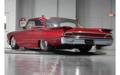 Low Riding 1960 Ford Galaxie Starliner Looks Sharp as a Needle