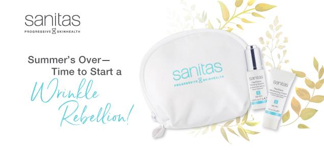 Sanitas Skincare PeptiDerm Anti-aging Products