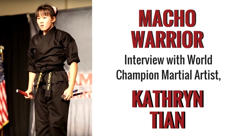 Interview With World Champion Martial Artist, Kathryn Tian