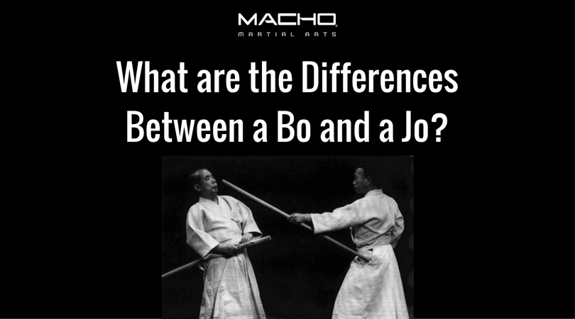 What Are The Differences Between A Bo Staff And A Jo Staff?