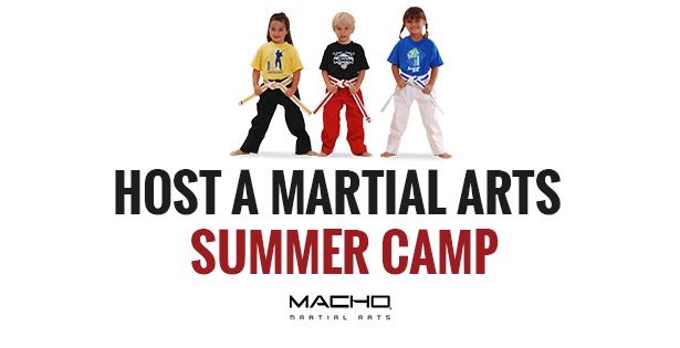 Host A Martial Arts Summer Camp