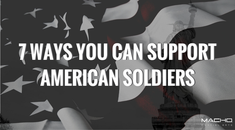 7 Ways You Can Support American Soldiers