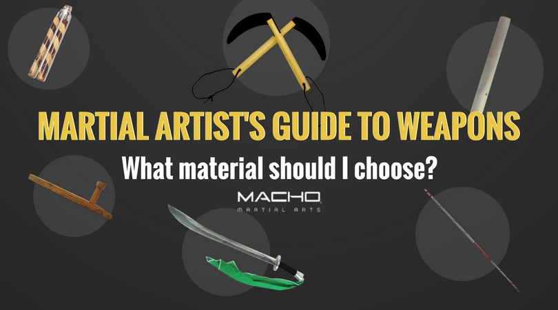The Martial Artist's Guide To Weapons