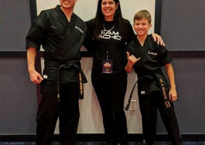 Ryker, Christine, and Gavin team macho