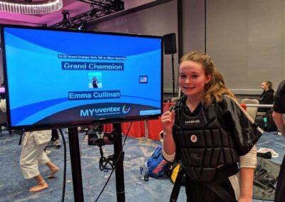 Emma Cullinan Diamond Nationals 2019