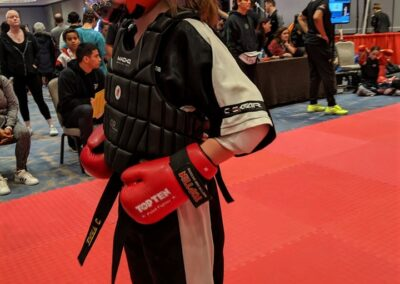 Emma Cullinan sparring gear Diamond Nationals 2019