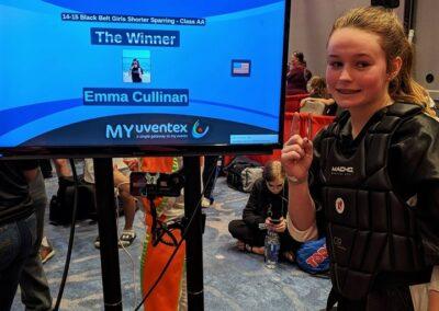 Emma Cullinan Grand Champion Diamond Nationals 2019