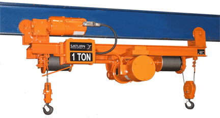 1 Ton Twin Hook Hoist