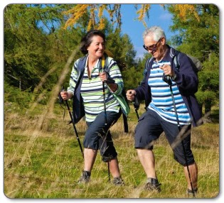 Why is Pole Walking Great for Hip Replacement & Arthritis?