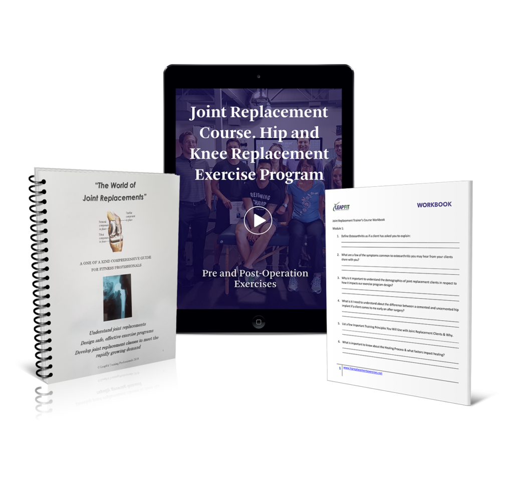 Joint Replacement Exercise Course For Fitness Professionals