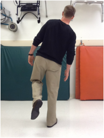 Gait post hip replacement surgery