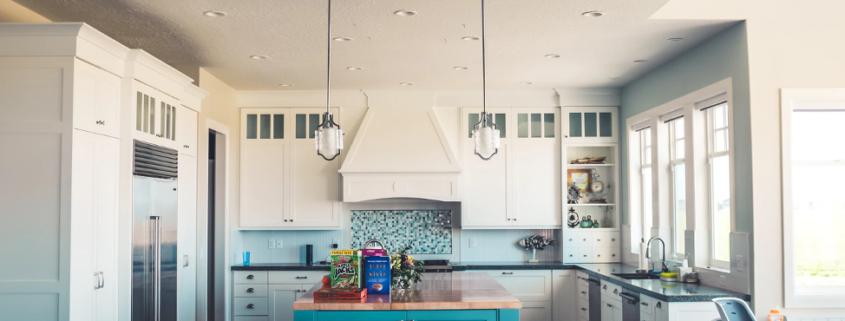 spotless kitchen