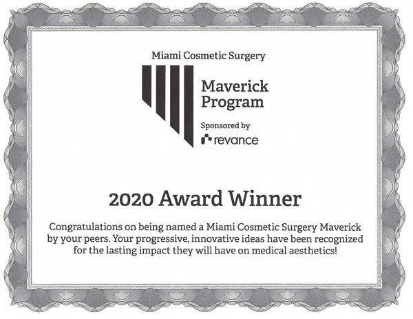 2020 Maverick Winner
