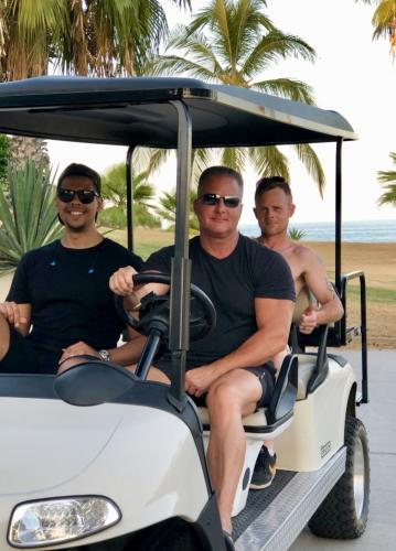 "Walk or ""golf cart it""  to the Beach"