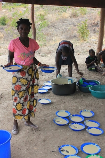 Determined to Develop Maize for School Feeding Program Arrives 3