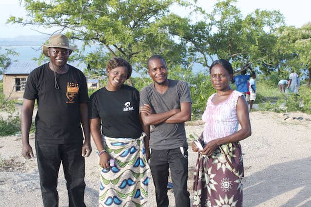 Determined to Develop School Children Assist with Reforestation Project 3