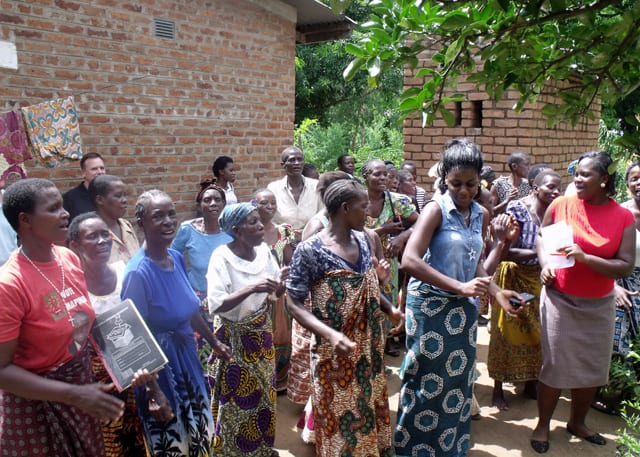 Mponela Widows Group Successfully Sells Their First 24 Chickens