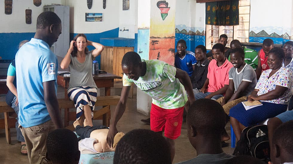 Determined to Develop Malawi CPR Class 5