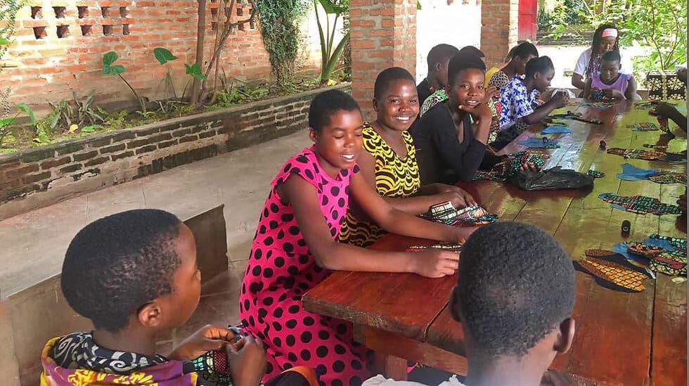 Reusable Pads Malawi Determined to Develop