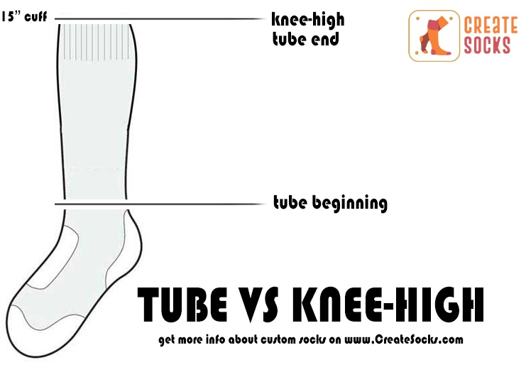 The Difference between Knee-High Socks and Tube Socks