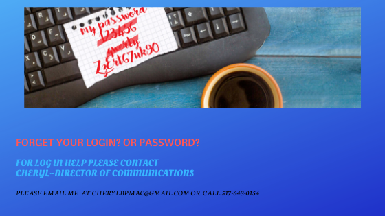 Are you having LOG IN ISSUES!!!