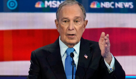 "Former New York Mayor Mike Bloomberg Calls Donald Trump ""an arrogant con man"""