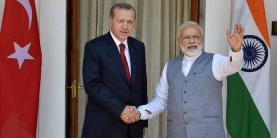 Turkey Extends Support to Pak on Kashmir, India Warns Not to Meddle
