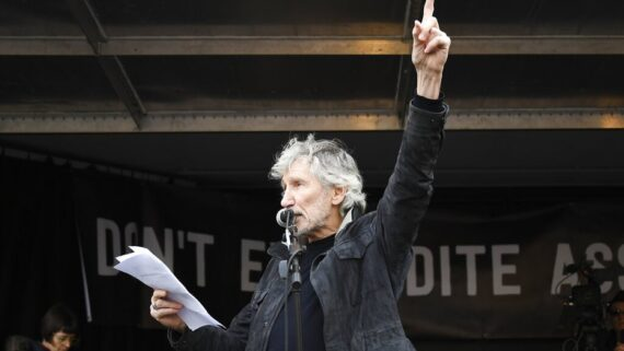 Pink Floyd singer Roger Waters recites Delhi activist Aamir Aziz's poem in a protest march in London, calls CAA 'racist and fascist.'