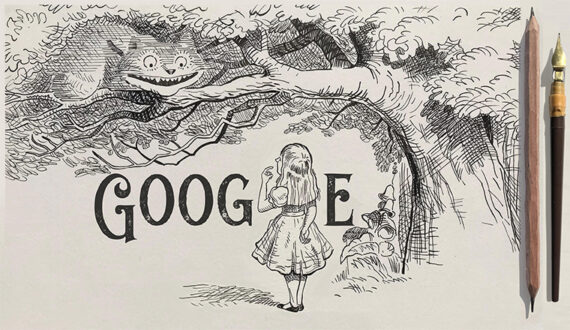 Google dedicates doodle to 'Alice in Wonderland' illustrator's Sir John Tenniel on his 200th Birth anniversary