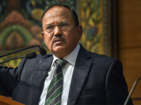 NSA Doval discusses bilateral partnership with Maldivian Defence Minister