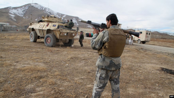 30 policeman killed in suicide attack on army camp in Afghanistan